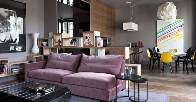 6 photos pour transformer un appart classique en espace design  CtMaisonfr