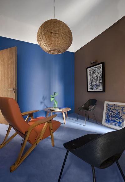 Osez Le Bleu Dans Votre Salon 7 Photos De Salons Bleus