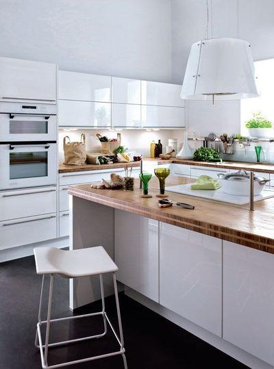 ilot cuisine pour manger excellent cuisine ouverte dlimite par une verrire ou un lot bar with. Black Bedroom Furniture Sets. Home Design Ideas