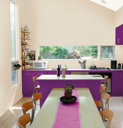 Repeindre une cuisine  quelle peinture fautil  Ct Maison