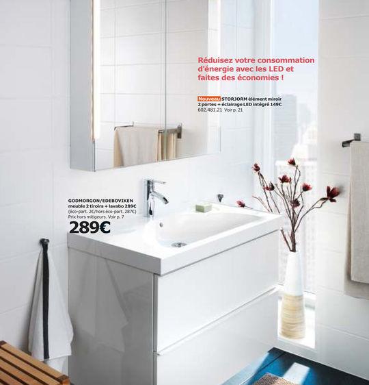Salle De Bains Ikea Le Meilleur Du Catalogue Côté Maison