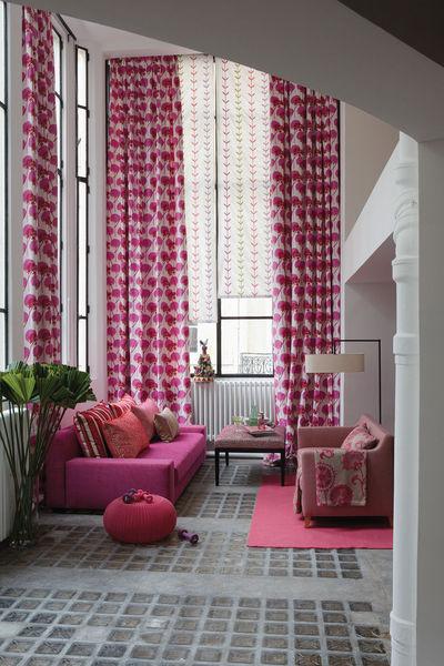 quelles couleurs choisir pour mes rideaux