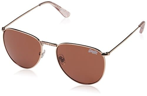 Superdry Zadie, Montures de Lunettes Femme, Multicolore (Rose Gold/Pink Solid Brown), 55