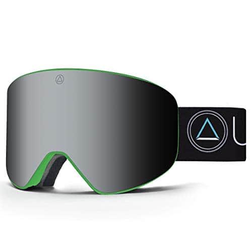 Uller Avalanche Green Northern Lights mascaras de Ski, Unisexe Adulte, Mixte Adulte, UL-004-05, Vert/Noir, Taille Unique