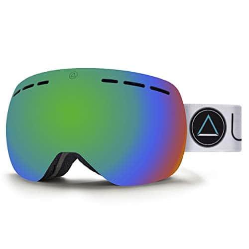 Uller Gravity Black Blizzard mascaras de Ski, Unisexe Adulte, Mixte Adulte, UL-003-03, Noir/Vert, Taille Unique