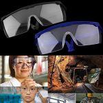 Lunettes de protection des yeux de sécurité au travail Lunettes anti-poussière anti-poussière