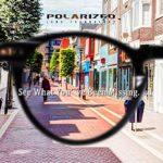 Carfia Lunettes de Soleil Femme Polarisées Mode Rétro Vintage la Protection UV 400 pour Conduire Voyager