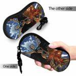 X Hommes Étui à lunettes portable avec fermeture éclair pour lunettes de soleil