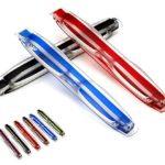 Tukistore 6set Pliant Pocket Lunettes De Lecture 360 Rotatif Tube Pen Clip Pliant Lecture Lunettes Ultralight pour Hommes et Femmes