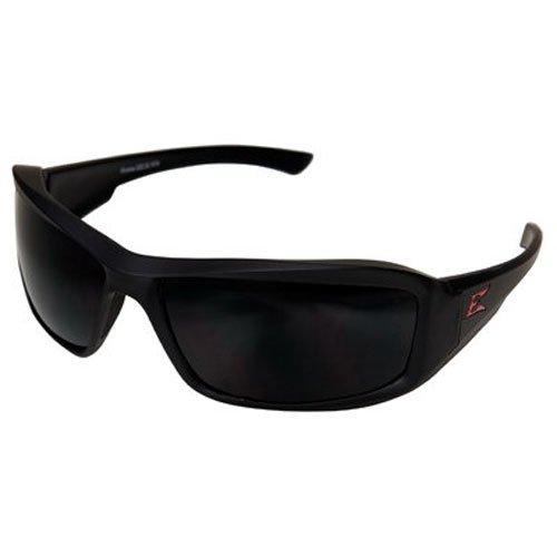 Edge Eyewear Unisexe 4001989-ssi Brazeau Couple Mat Cadre polarisées Verres fumés, Multicolore