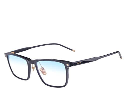 Lecture anti-radiations à haute définition lunettes grandes lunettes de lecture de mode affaires hommes cadre confortable jeune cadre cerclé verres d'aide portatifs de vision multifonctionnelle