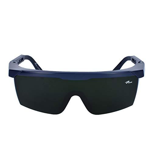 Mufly Lunettes de soudage pour les yeux de sécurité pour soudeurs avec lunettes transparentes Anti-log Anti-reflet Anti-choc Lunettes (IR5.0)