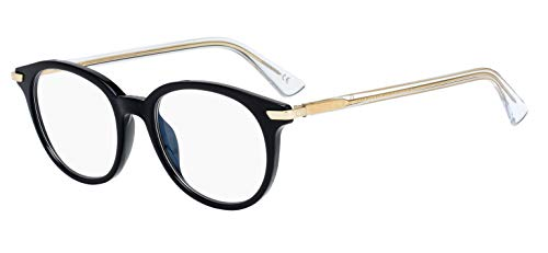 Lunettes de Vue Dior DIOR ESSENCE 1 BLACK GOLD CRYSTAL 49/18/145 femme