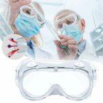 Lunettes de protection de sécurité anti-buée avec aération lunettes de travail anti-chocs anti-poussière et liquides