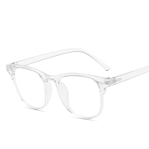 HAOMAO Lunettes vintage anti-lumière bleue pour hommes et femmes lunettes de protection carrées 15