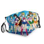 Sailor Moon Masque de protection UV pour la pêche, la chasse, la course à pied, le ski