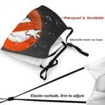 The Real Ghostbusters Masque de protection UV pour la pêche, la chasse, la course à pied, le ski