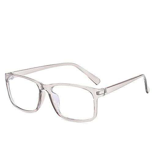 NIUBKLAS Lunettes de blocage de la lumière bleue à la mode unisexe lentille claire pour ordinateur lunettes de vue femmes hommes lunettes de jeu anti lumière bleue 1-BJ5209-C4