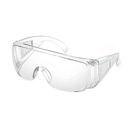 MTING Lot de 2 lunettes de protection transparentes – Protection des yeux – Protection contre la poussière, les éclaboussures, le vent et la poussière