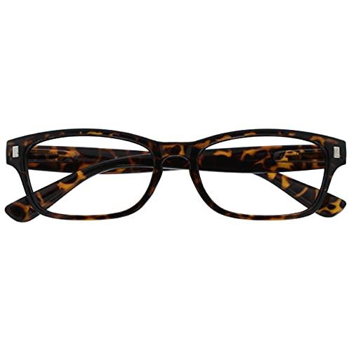 The Reading Glasses Lunettes de Lecture Marron Écaille Lecteurs Hommes Femmes R10-2 +2,00
