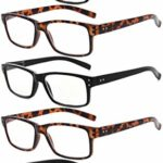 eyekepper lot de 5 lunettes de lecture de qualité lecteurs de charnière à ressort pour la lecture Hommes Femmes