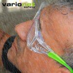 Varionet – Lunettes de Protection Adaptée à la Vue Varionet Safety – Vision et Protection Oculaire pour Presbytie – Correction Multifocale de 30 cm à 1 mètre – Correction + 2.5 – Normes CE