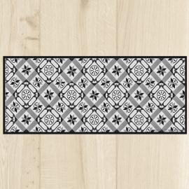 tapis cuisine carreaux ciment vintage