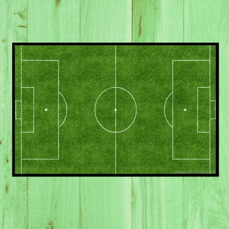 paillasson terrain de foot paillasson football paillasson coupe