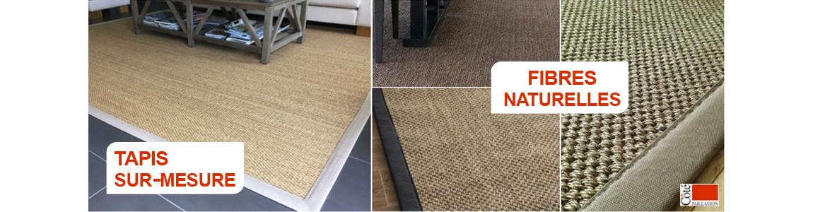 tapis fibres naturelles sur mesure