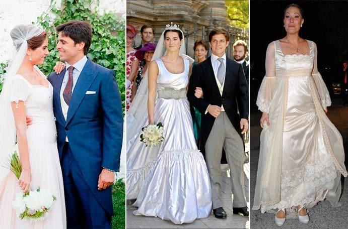 Ricas, famosas y fatal vestidas el día de su propia boda: las 10 novias que no conocen el buen gusto