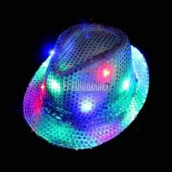 sombreros fluor cotillon fiestas