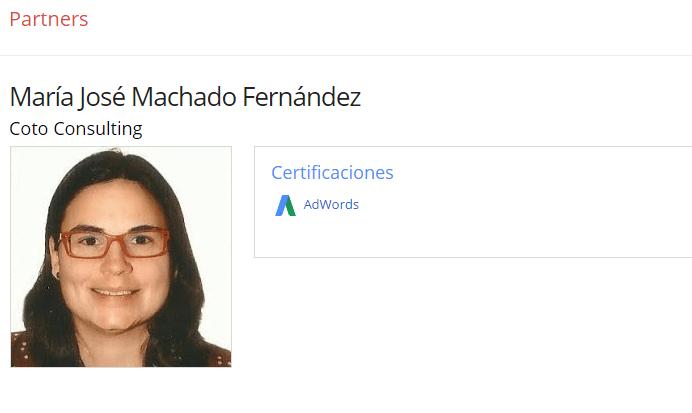 coto consulting certificacion adwords