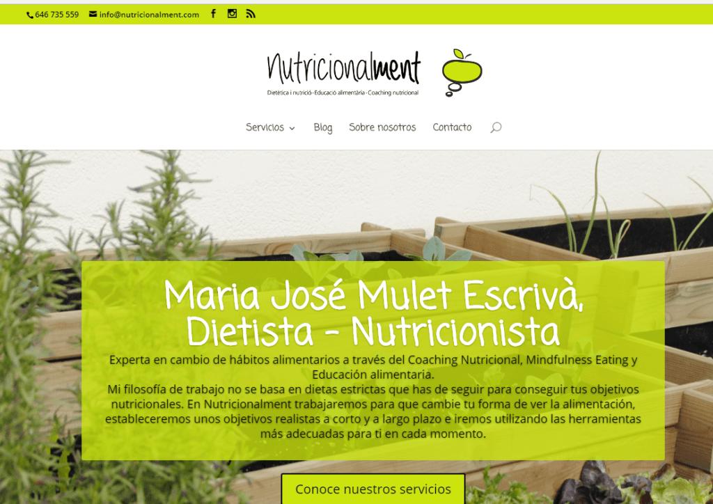nutricionalment web