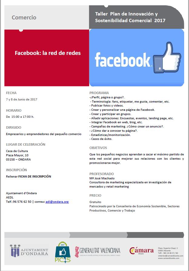 curso Facebok ondara camara alicante_2017