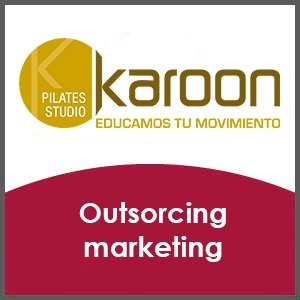 Outsourcing de marketing para cadena de pilates
