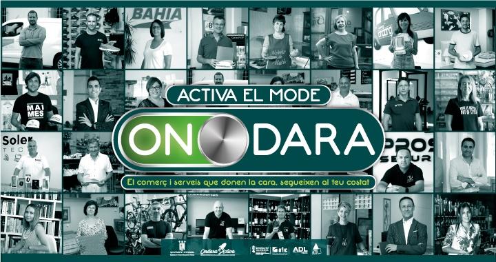 Campaña para reactivar el comercio local_Activa el mode ONdara