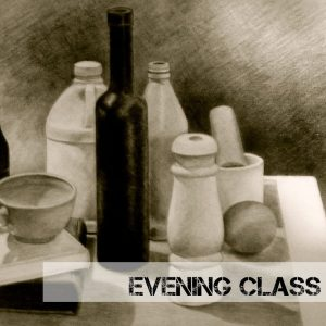Drawing-evening-Class-Still-Life-cotswold-art-academy-2017