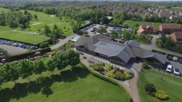 Aerial Footage from Brickhampton Golf Course