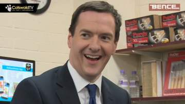 George Osborne visits Bence Builders Merchants