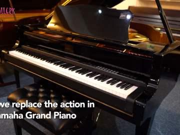 Grand Piano to Digital Conversion