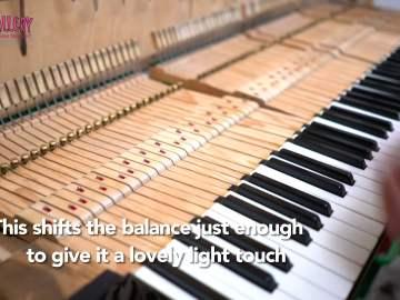 Piano Lead Weights Keys