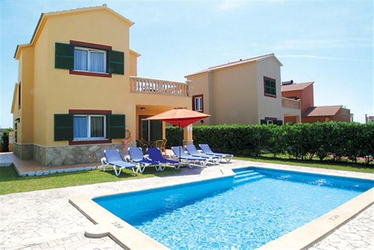 Villa Jardin del Mar I Ref  8745 in Spain With Swimming Pool  Villas in Cala Blanes Menorca