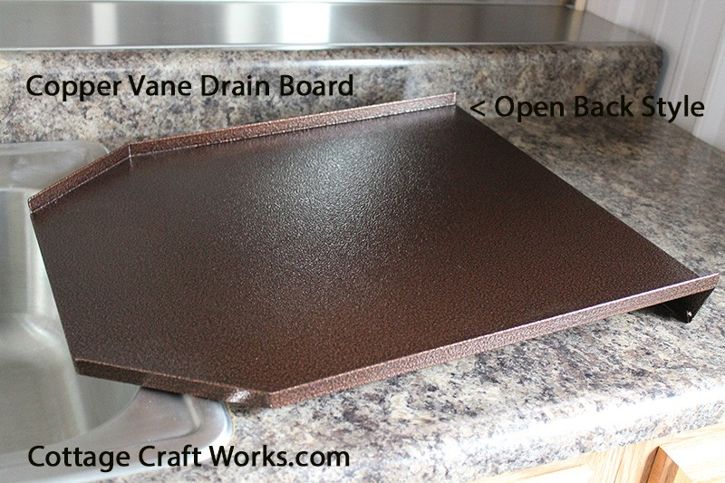 Decorator Kitchen Sink Drain Board Copper Black Granite
