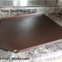 Kitchen Sinks With Drainboards Countertop Ideas Cheap Decorator Sink Drain Board, Copper, Black Granite