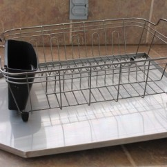 Kitchen Draining Board Boots Heavy Stainless Steel Sloped Drainboard For Sinks Sink Drain