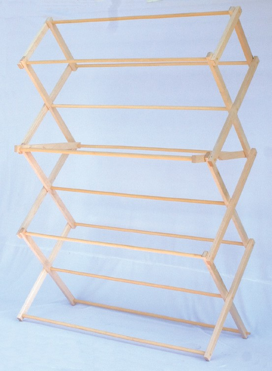 accordion fold clothes drying rack