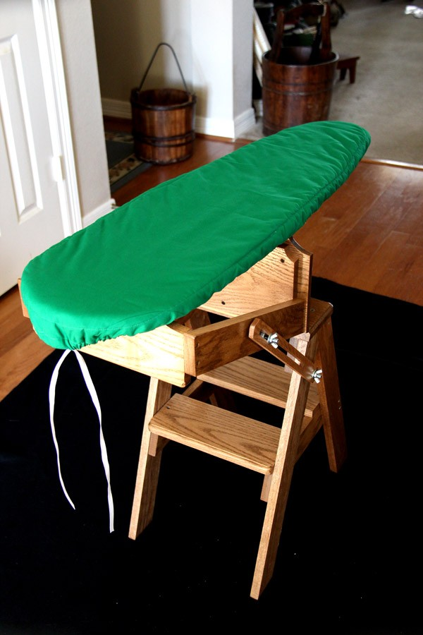 chair step stool ironing board indoor swing chairs uk folding bachelor replacement cover