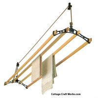 Sheila Maid Ceiling Rope Hung Retractable Clothes Drying Rack