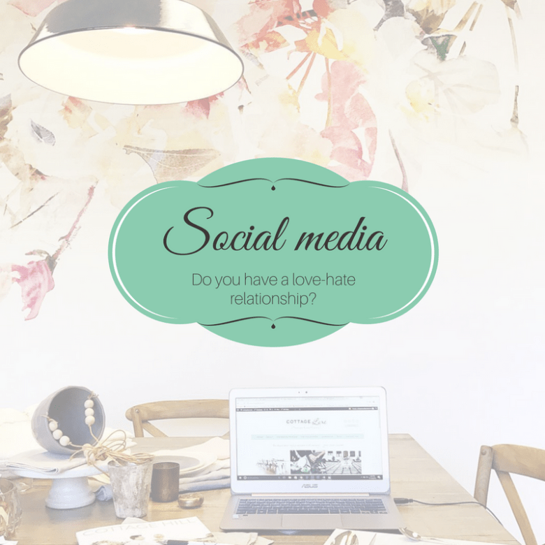 Love-hate relationship with social media?