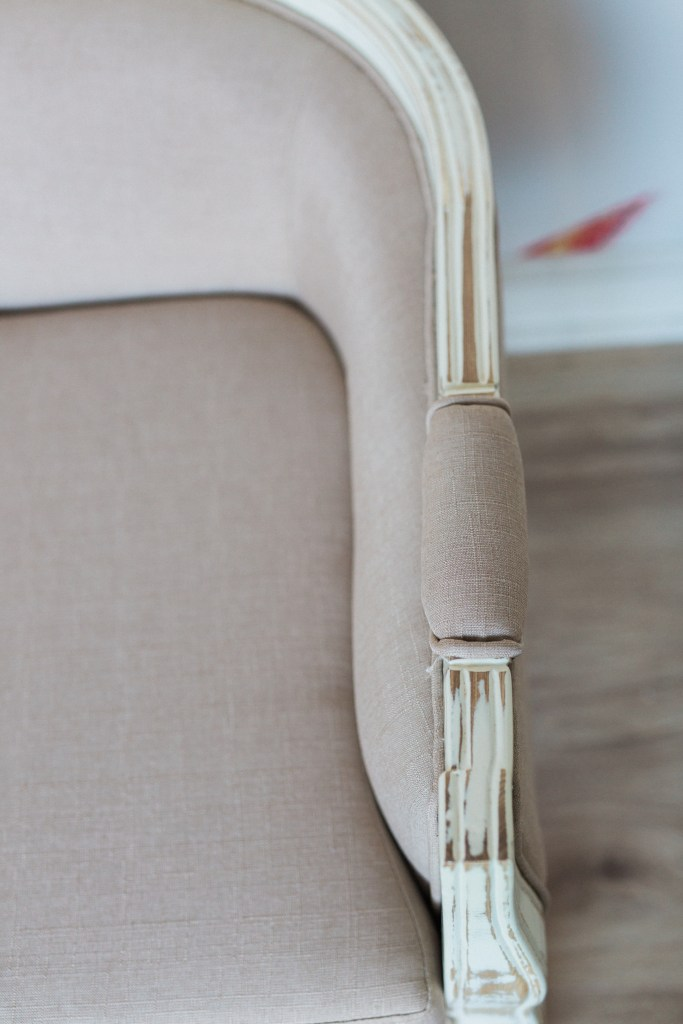 Cottage Luxe Product Detail Upholstered Arm